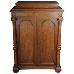 Historicism Cabinet / Vertiko circa 1870, Light Oak