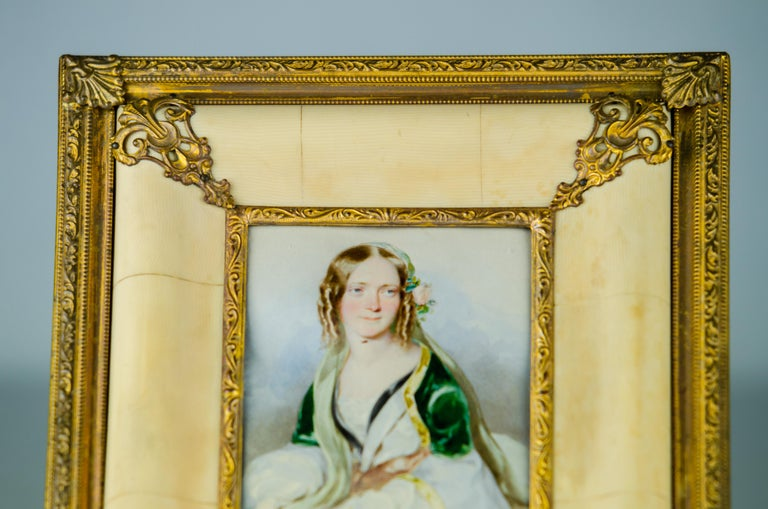 Historistic Bone Picture Frame, circa 1890s For Sale 3