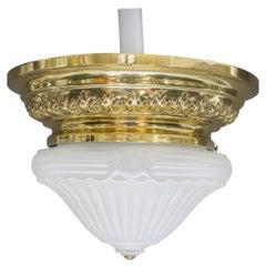 Historistic Ceiling Lamp Vienna, circa 1890s