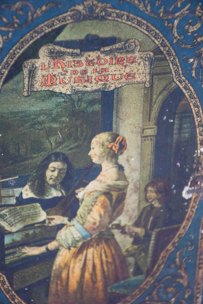 History De La Musique Metal Box For Sale 9