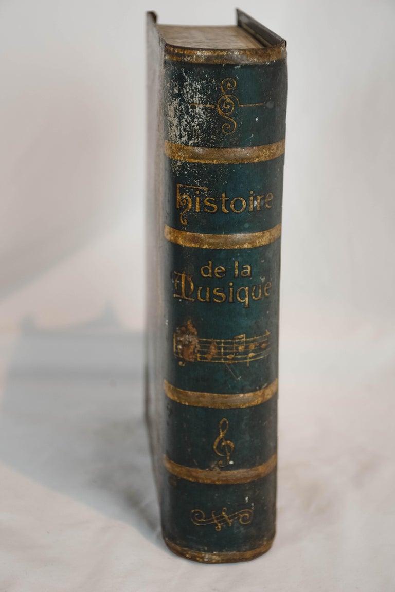 French History De La Musique Metal Box For Sale