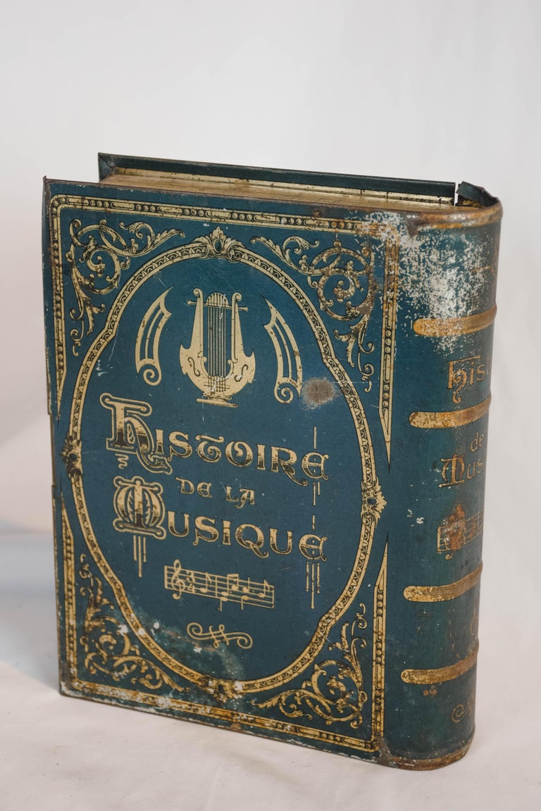 20th Century History De La Musique Metal Box For Sale