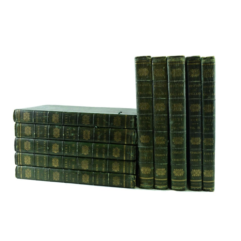 Early 19th Century History of England, Bowyer Edition, Ten Volumes For Sale
