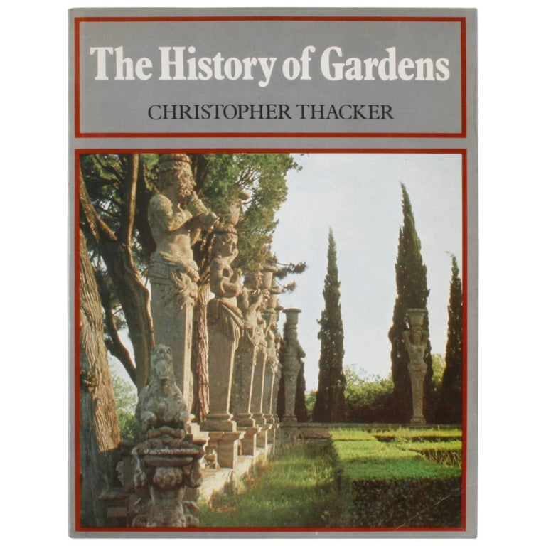History of Gardens by Christopher Thacker For Sale