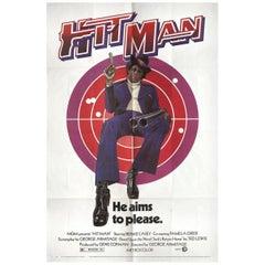'Hit Man' 1972 U.S. One Sheet Film Poster