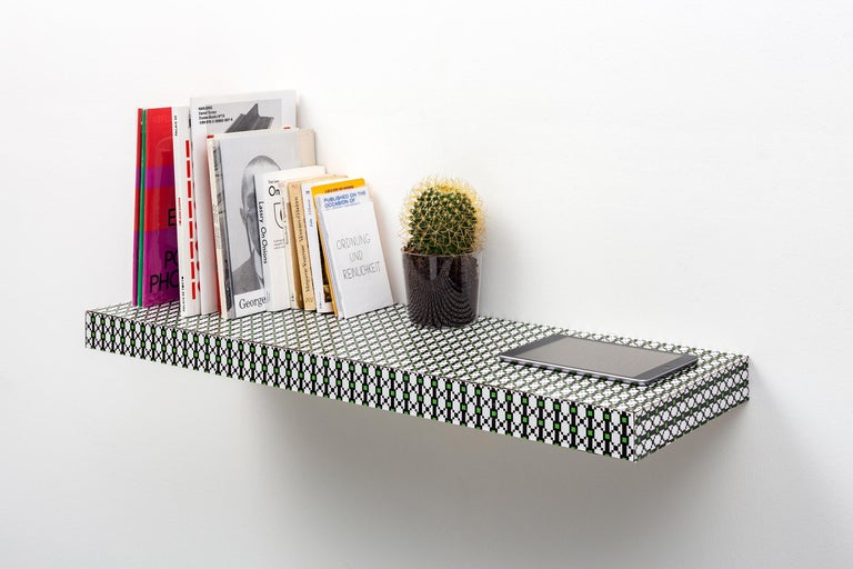 Other Chapel Petrassi Contemporary Shelf Optical Hitan Wood and Decorative Laminates  For Sale