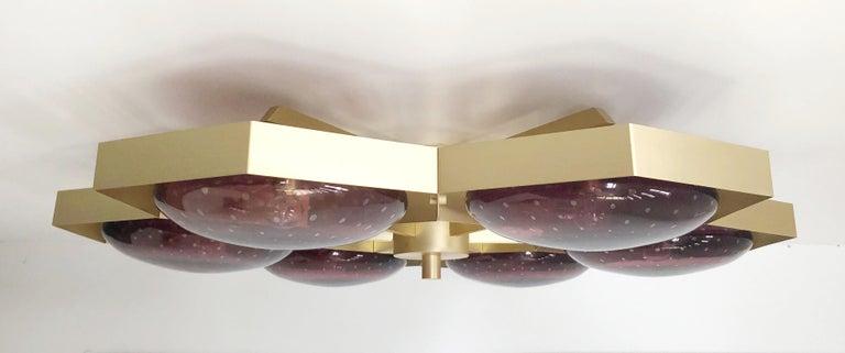 Hive Flush Mount by Fabio Ltd For Sale 2