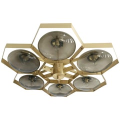 Hive Flush Mount by Fabio Ltd