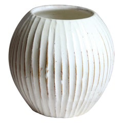 Hjalmar Møller, Sizable Vase, Glazed Stoneware, Artists Studio, Denmark, 1938