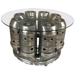 HMS Bristol Olympus Turbine Engine Dining Table
