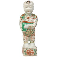 ''Ho Ho boy'' Chinese Porcelaine Period Kang-Hsi Second Half of the 17th Century