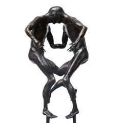 Mirror Male by Hobbes Vincent. Limited Edition Bronze Sculpture