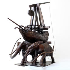 The Elephants by Hobbes Vincent. Limited Edition Bronze Sculpture