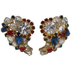 Hobé Rhinestone Earrings
