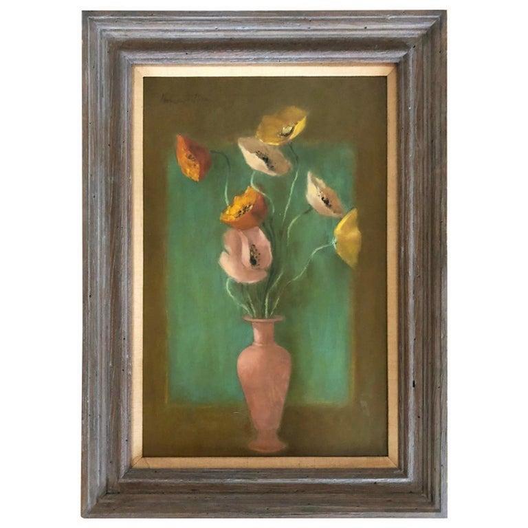 Hobson Pittman Still-Life Painting - Vase of Flowers