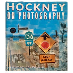 Hockney On Photography, Conversations with Paul Joyce by David Hockney Book