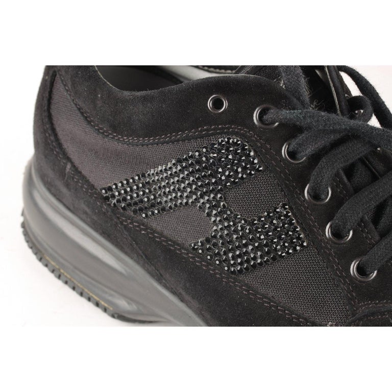 Women's Hogan Interactive Sneakers with Rhinestones 38 For Sale