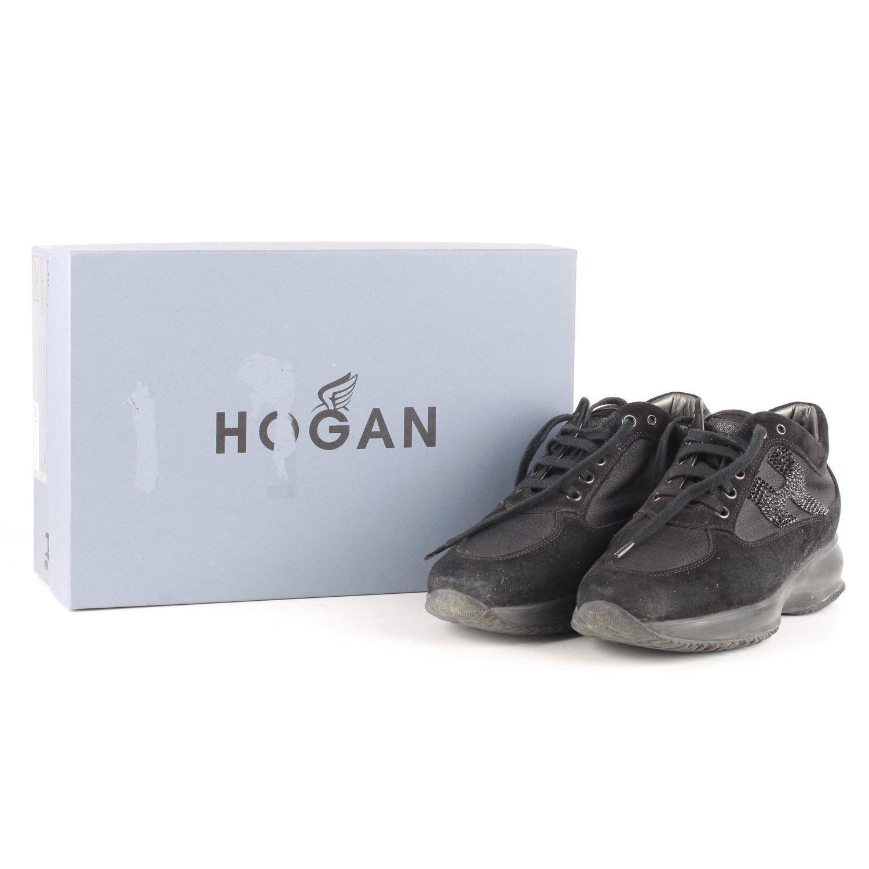 Hogan Interactive Sneakers with Rhinestones 38