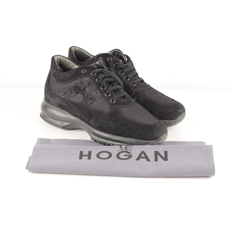 Hogan Interactive Sneakers with Rhinestones 38 For Sale 3