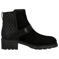 Hogan Woman Ankle boots Black EU 35.5
