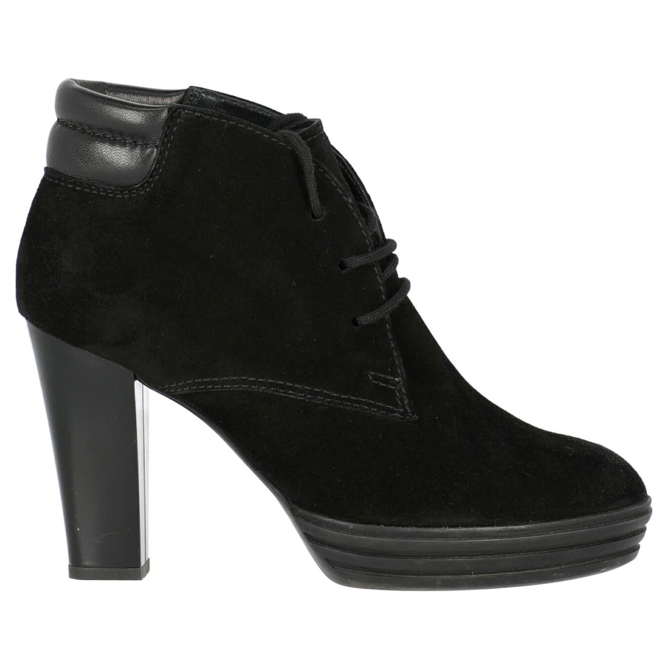 Hogan Woman Ankle boots Black EU 36