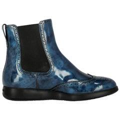 Hogan Woman Ankle boots Navy EU 37.5