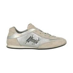 Hogan Woman Sneakers Grey Leather IT 37.5