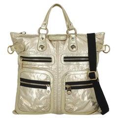 Hogan Women  Handbags  Gold Synthetic Fibers