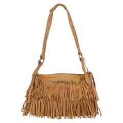 Hogan Women  Shoulder bags Camel Color Leather