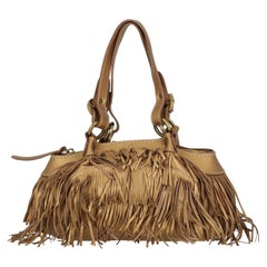 Hogan  Women   Shoulder bags  Gold Leather