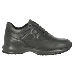 Hogan Women  Sneakers Anthracite Leather IT 37