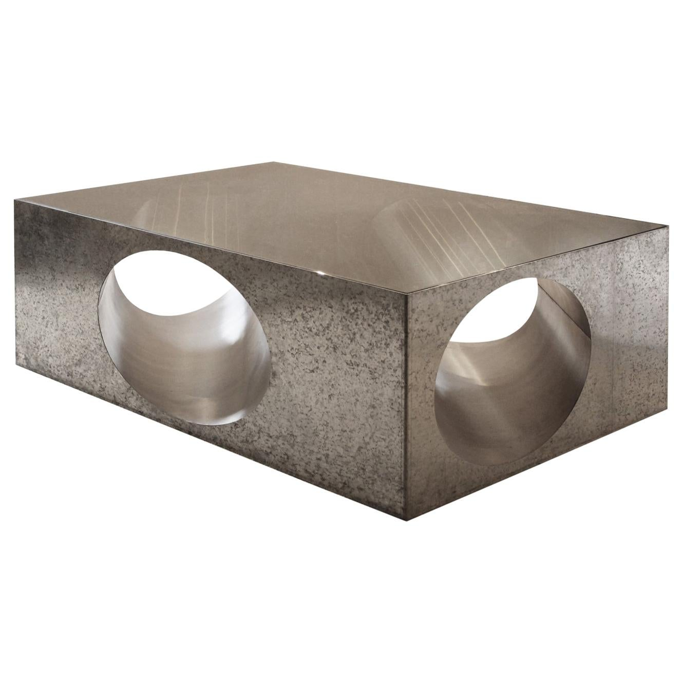 Hol-Low Table by Christian Zahr