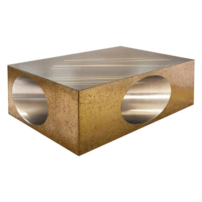 Hol-Low Table by Christian Zahr For Sale