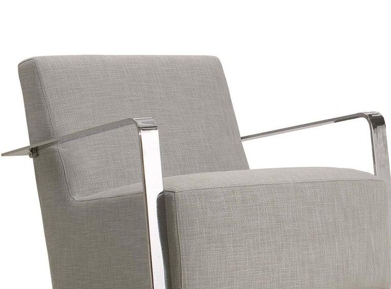 Italian Hola Gray Armchair For Sale