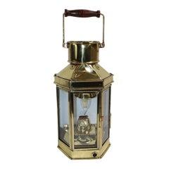 Holder Stroud Brass Boat Lantern