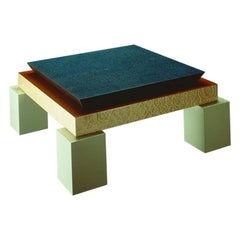 Holebid Briar Coffee Table, by Ettore Sottsass for Memphis Milano Collection