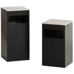 Holger Bäckström & Bo Ljungberg 'Beck & Jung' Ashtrays / Garbage Cans