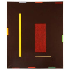 Holger Jansson, Sweden, Abstract Composition, Oil on Canvas, Dated 1996