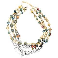 Holiday Collection Necklace with cloisonnè beads from IOSSELLIANI