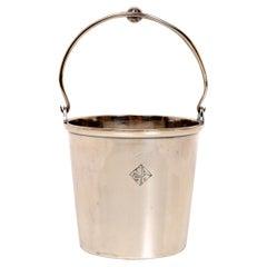 Holland-America Line Silver Plated Ice Bucket, by Van Zwanenburg