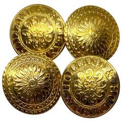 Holland & Holland Cufflinks in 18 Karat Yellow Gold