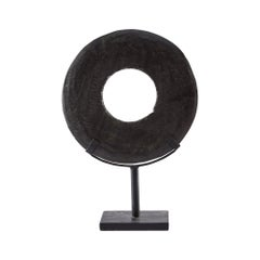 Hollis Stone Sculpture in Black Stone by CuratedKravet