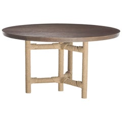 HOLLY HUNT Afriba Table in Mineral White Base by Christian Astuguevieille