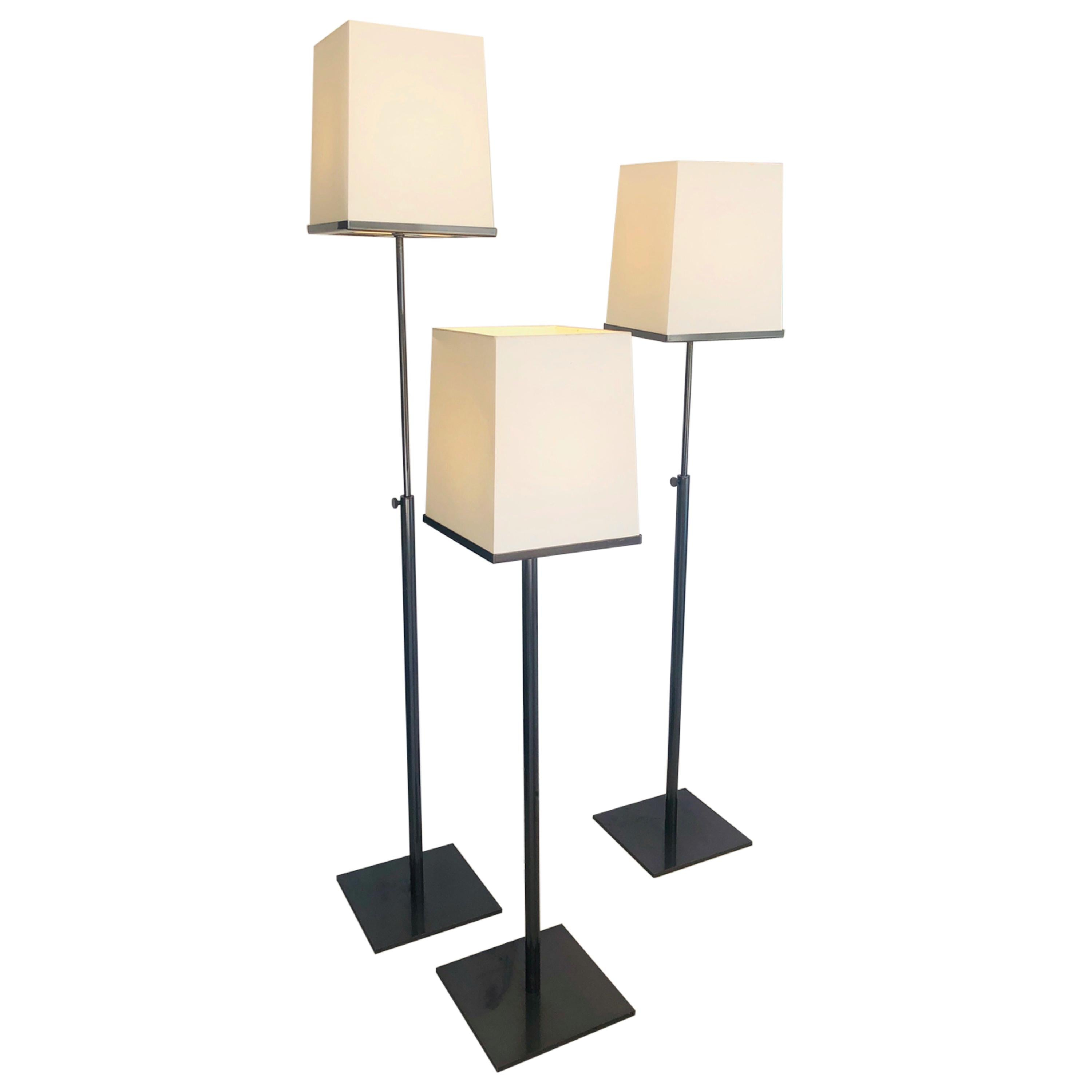 Holly Hunt Bronze Telescopic Floor Lamp, 3 Available