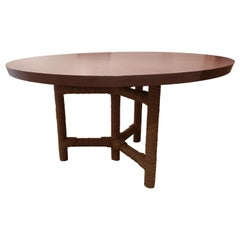 HOLLY HUNT HH2015615 Afriba Table in Paldao 185 by Christian Astuguevieille