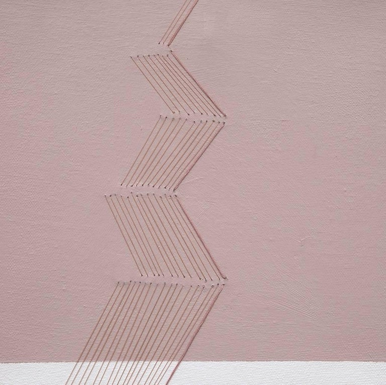 Twist 2 - Minimalist Painting by Holly Miller