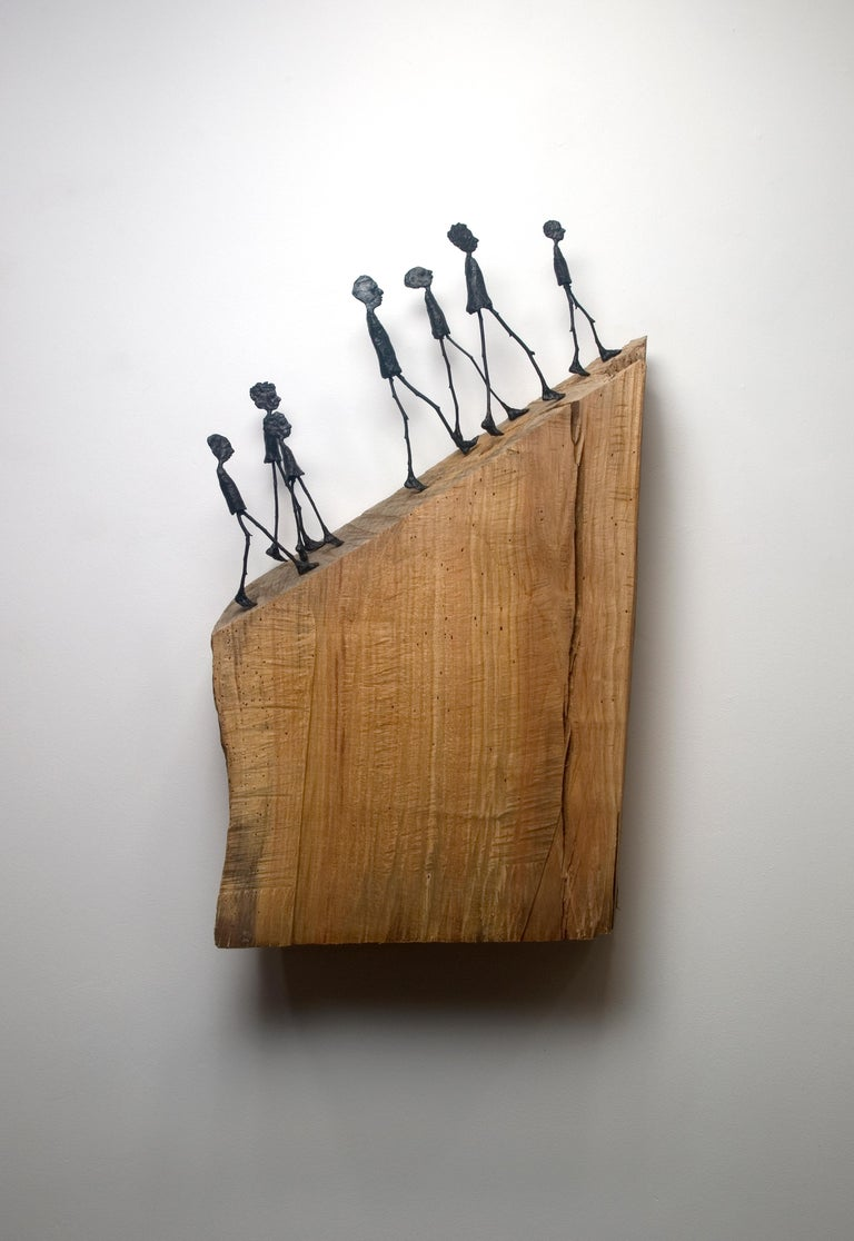 "Holly Wilson Figurative Sculpture - ""Gathering"""