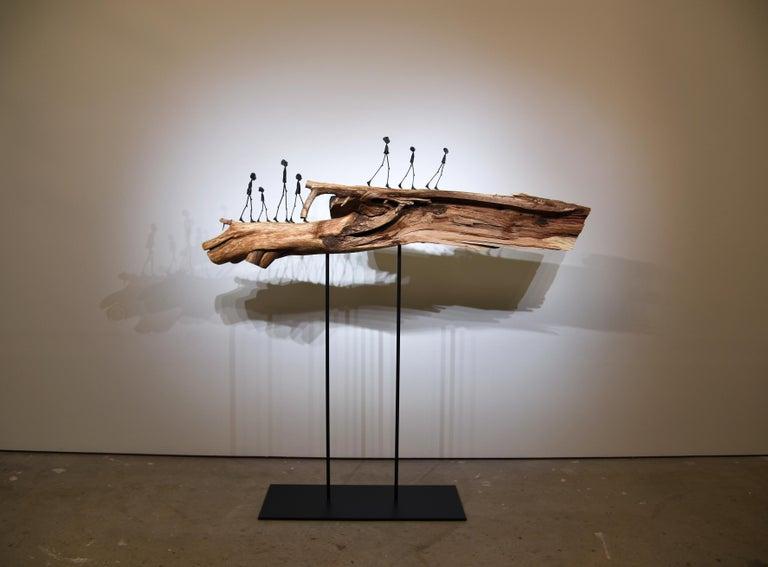 "Holly Wilson Figurative Sculpture - ""The Interwoven Dragon"""