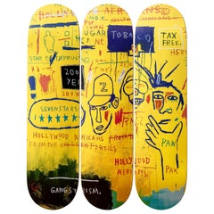 Hollywood Africans Skateboard Decks after Jean-Michel Basquiat