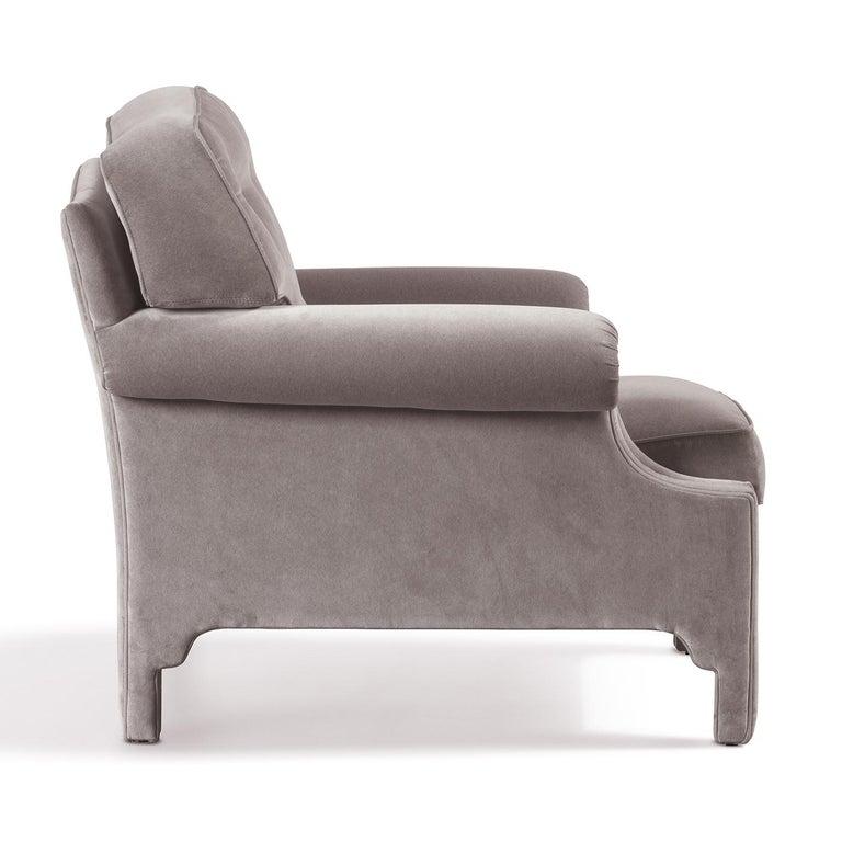 Italian Hollywood Armchair For Sale